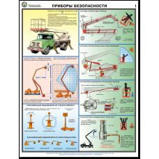 """Плакат """"Безопасность работ с автоподъемниками"""""""