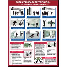 """Плакат """"Если атаковали террористы..."""""""