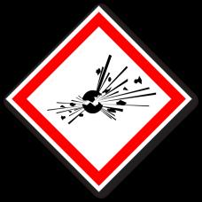 """Пиктограмма """"Неустойчивые взрывчатые вещества"""""""