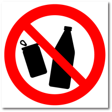 """Знак """"Не мусорить"""""""