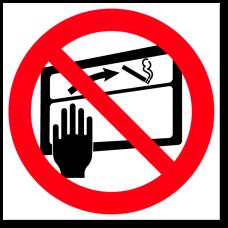 """Знак """"Запрещается выбрасывать окурки в окно"""""""