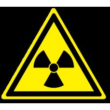 """Знак """"Опасно. Радиоактивные вещества или ионизирующее излучение"""""""