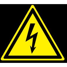 """Знак """"Опасность поражения электрическим током"""""""