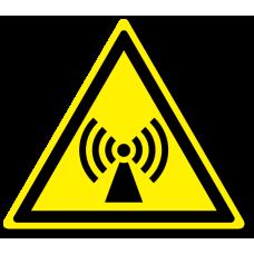 """Знак """"Внимание. Электромагнитное поле"""""""
