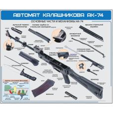 "Стенд ""Автомат калашникова АК-74"""